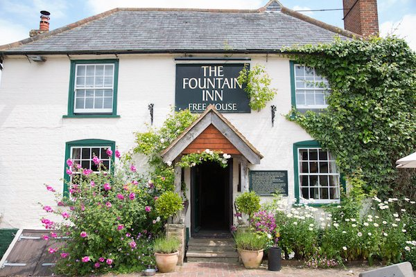 The Fountain Inn, Ashurst, Steyning, Country food pub, restaurant
