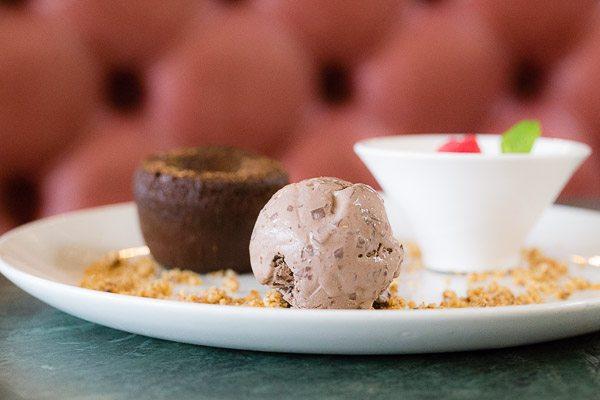 Dessert puddings at Browns Restaurant Brighton