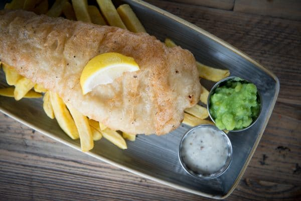 Oh So Social Fish and Chips in Brighton