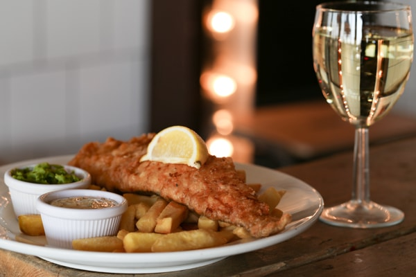 Fish and Chips - OhSo Brighton