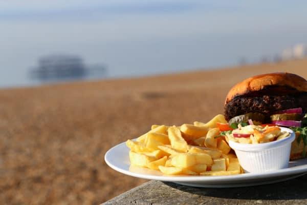 Lunch in Brighton
