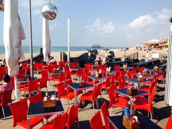 Ohso Social, Brighton Seafront, Cafe, Bar, restaurant, Brighton beach