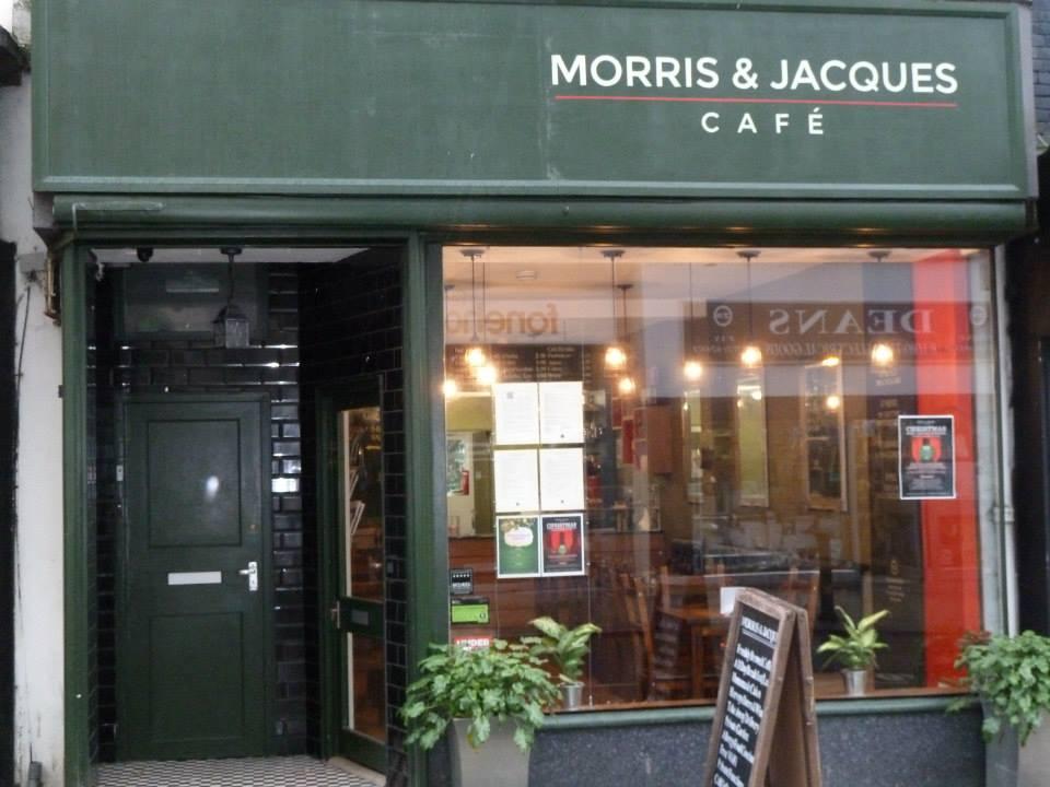 Cafe St James Street Brighton