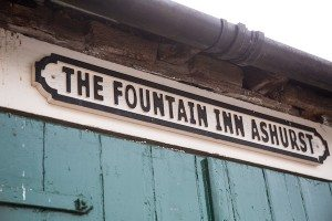 The Fountain Inn, Ashurst, Steyning, Country food pub, restaurant