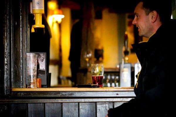 Customer at Bar