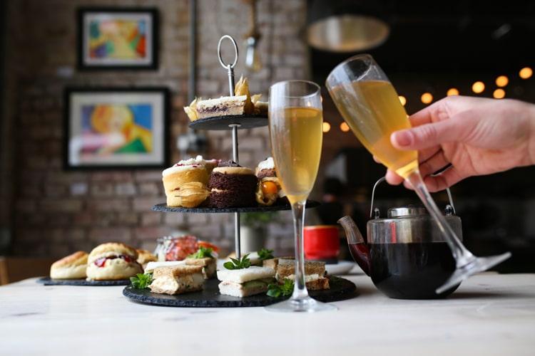 Afternoon Tea at Cafe Plenty