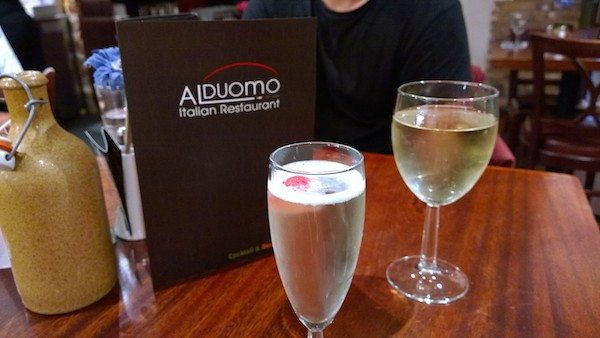 Al Doumo, Italian Restaurant, Brighton, Gluten Free Dining