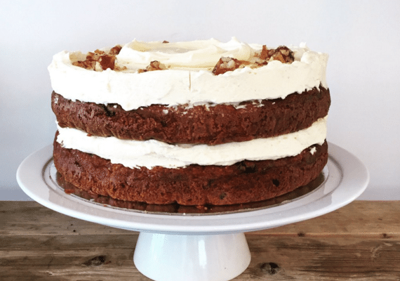 Carrot cake at Flour Pot Bakery - Flour Pot Bakery Elm Grove