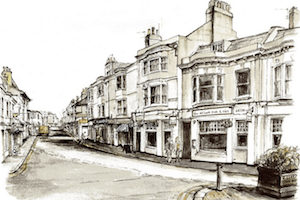 The Old Bank Sketch