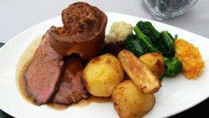 Roast sirloin or beef