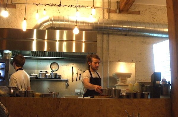 Silo Restaurant, Bakery, Coffee house, Brighton, Douglas McMasters