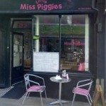 Little Miss Piggies Café, Kemptown, Brighton, British, breakfasts, lunches
