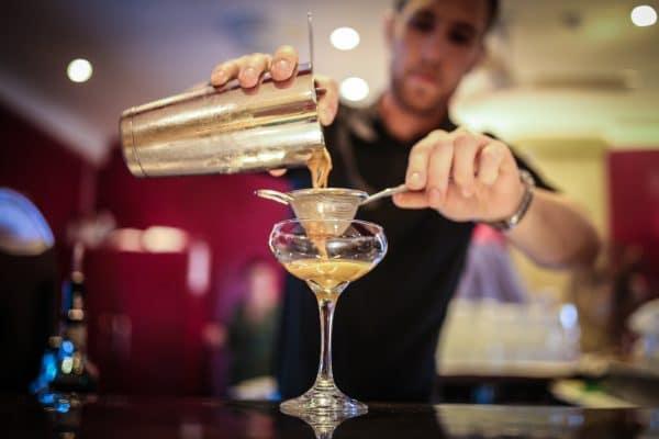 Espresso Martini cocktail at Terre à Terre Brighton