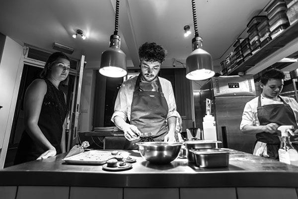 Isaac At Chefs - Emma Lewis-Griffiths, The Social Club, Communications