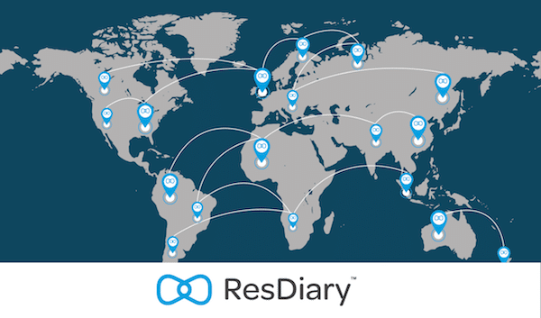 ResDiary Global Map