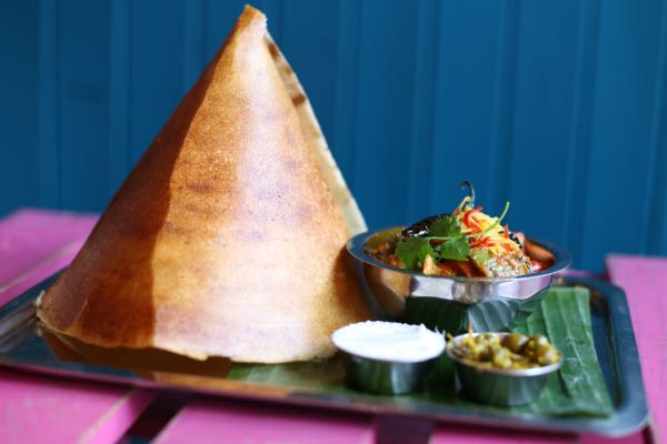 Dosa side view
