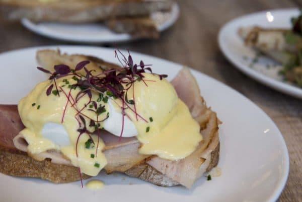 Eggs at Moksha Cafe Brighton
