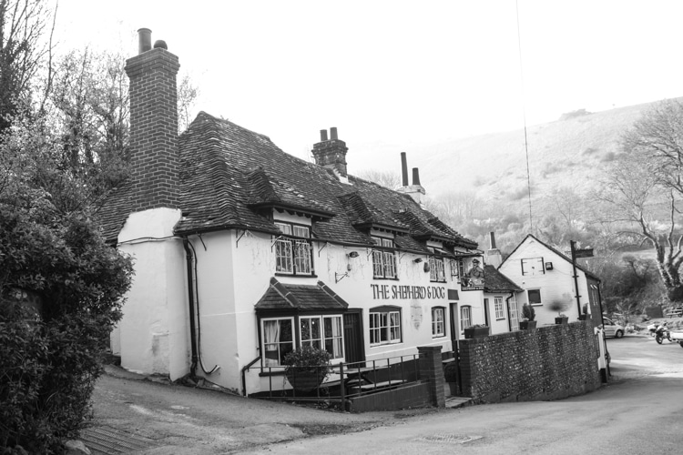 The Shepherd and Dog in Fulking