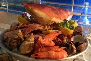 GB1 Restaurant, seafood review, Restaurants Brighton, Grand Hotel