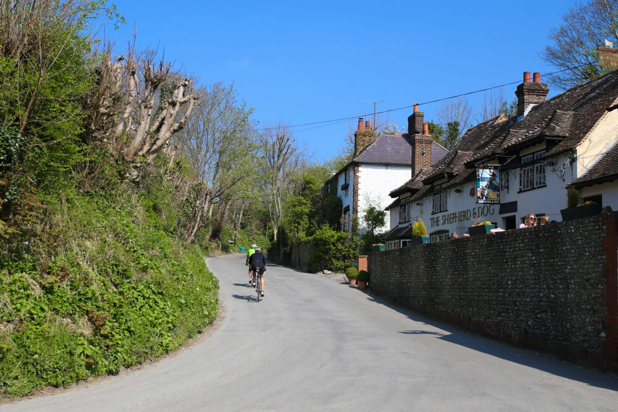 The Shepherd and Dog in Fulking - South Downs Pub