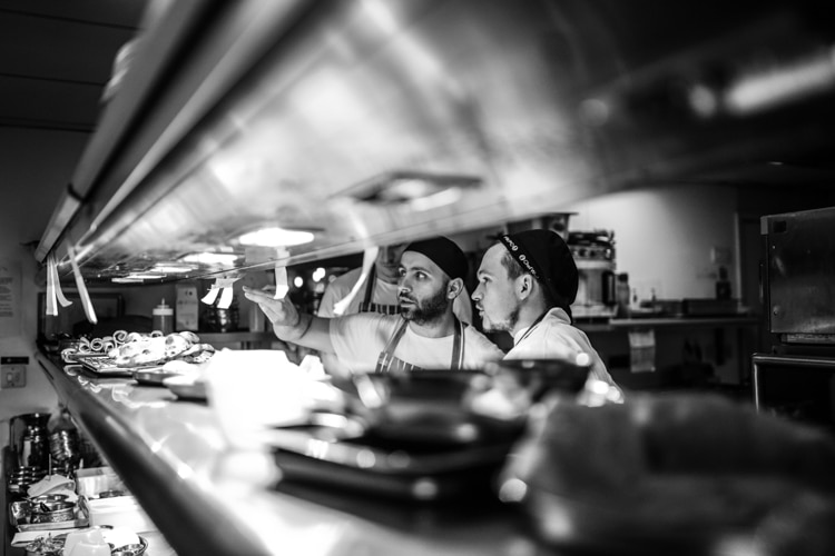 The pass at The Chilli Pickle Brighton - Brighton Food Photography