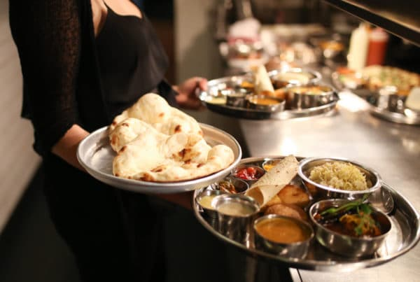 Thali dishes at The Chilli Pickle Brighton