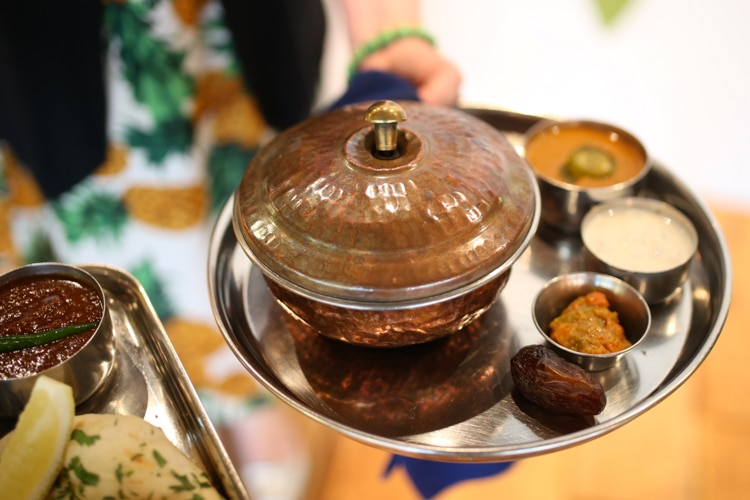 Modern Indian cuisine at The Chilli Pickle Brighton