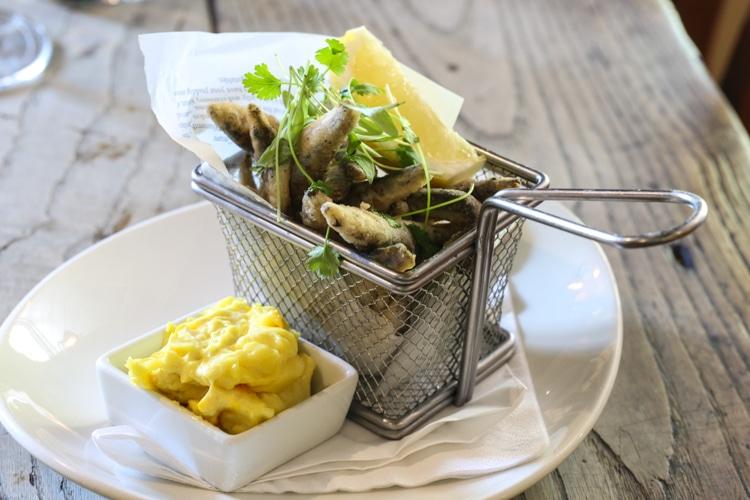 White bait, food pubs Brighton