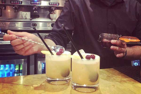 Cocktails at No 32, Duke Street, Brighton