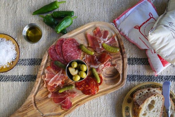 Meat board, Market Restaurant, Hove_0338