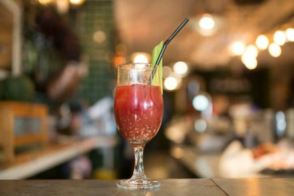 Bloody Mary at Market Restaurant, Hove