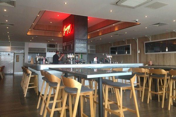 Stock burger brighton holiday inn brighton seafront for Interior design agency brighton
