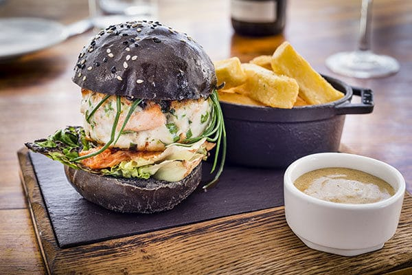 Salt Room - Fish Burger, Brighton