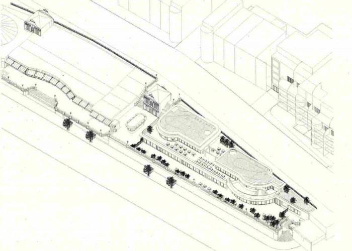 Soho House Brighton blueprint