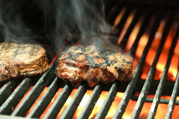 Steak on the Josper oven - Christmas Food Facts