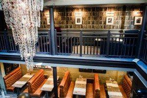 Impressive interior at No 32, bar, restaurant, and club, Duke Street, Brighton