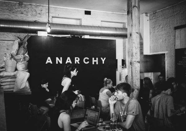 Silo Brighton interior anarchy