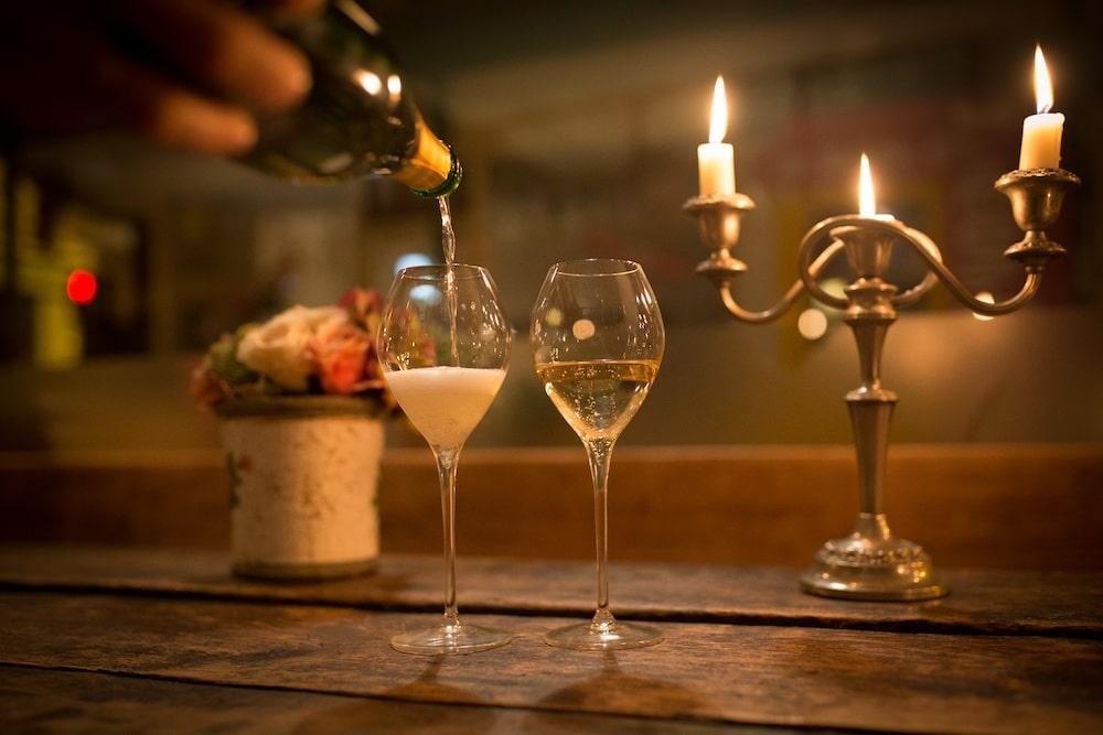 Champagne at Grow 40 Brighton