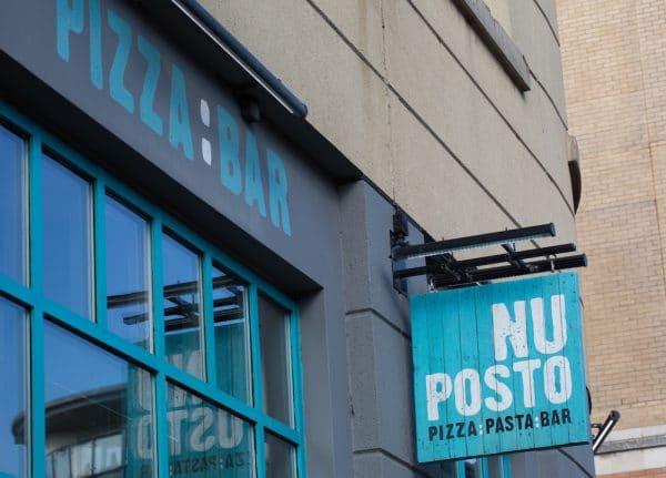 Exterior of Nuposto on West Street