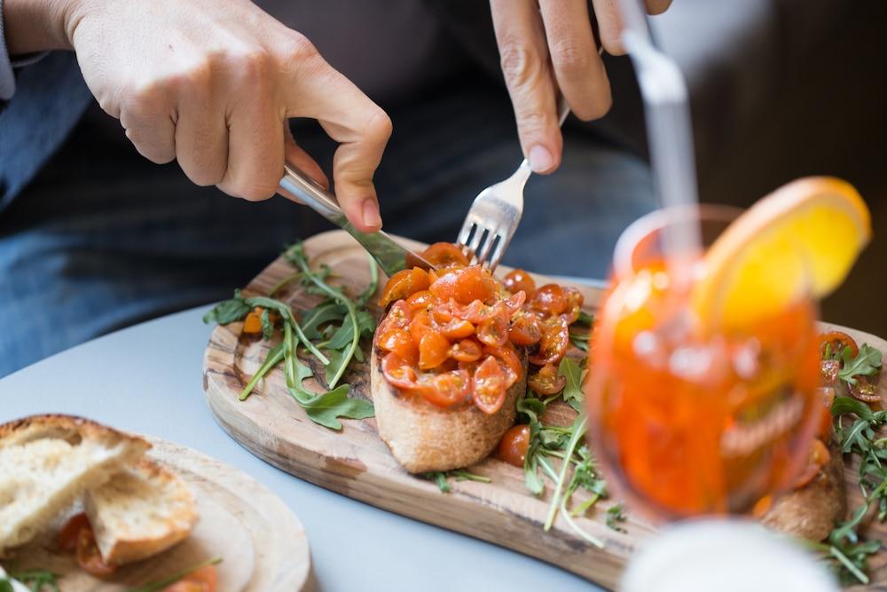 Tomato Buruscetta, Nuposot Brighton