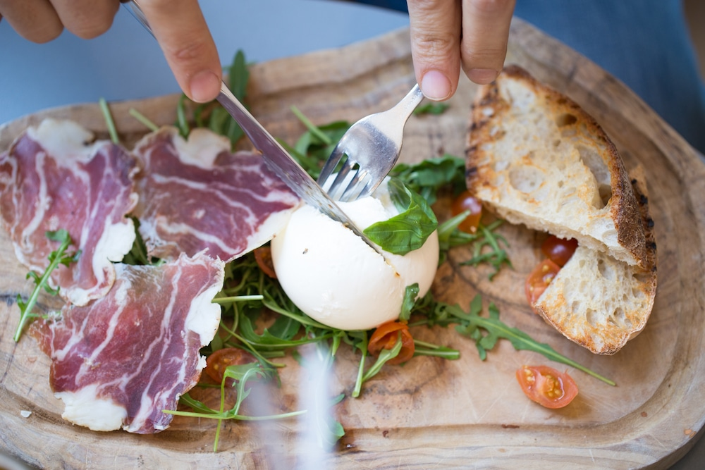Burrata, Brighton