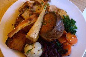 Gluten free roast, the Farm Tavern, Hove, Sunday Roast