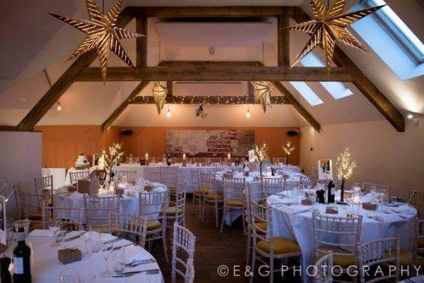 The Talbot hayloft event room