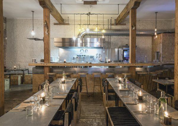 Silo restaurant in Brighton interior