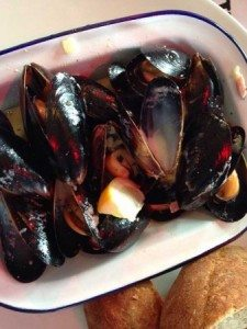 Mussels: OhSo Social cafe-bar, Brighton