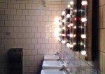 Rockstar bathroom: OhSo Social cafe-bar, Brighton