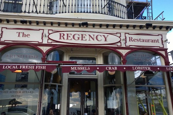 Regency Fish restaurant, Fish and Chips, Brighton Seafront, Kings Rd