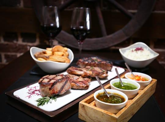 Beef platter - LatinoAmerica Restaurant Hove