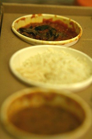 Selection of dishes, Chilli Pickle restaurant Canteen, Brighton