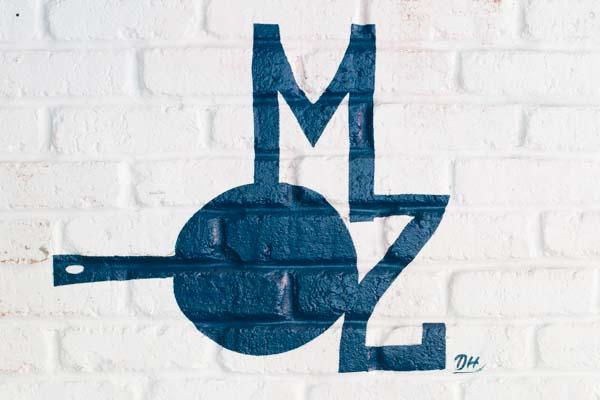 Morelli Zorelli Logo on wall